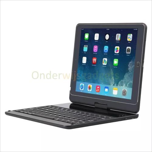 Dasaja Premium Toetsenbord hoes / case geschikt voor iPad 9.7 (2017/2018), iPad Air 1 / 2 en iPad Pro 9.7