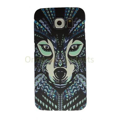 Luxo case Glow in the dark Wolf Samsung Galaxy S6 Edge