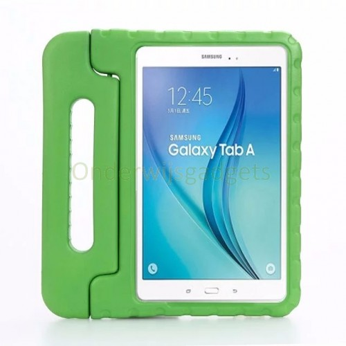 Samsung Galaxy Tab A 10.1 (2016) EVA hoes kinderen groen