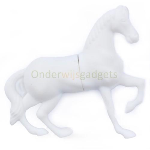 USB-stick paard wit 8 GB