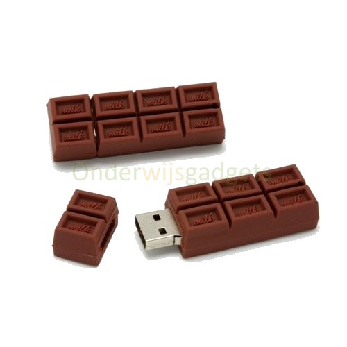 USB-stick chocolade 16 GB