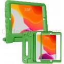 iPad 10.2 (2019 / 2020) kinderhoes groen met ingebouwde screenprotector
