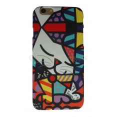 Britto case iPhone 6 Plus en iPhone 6S Plus Poesje