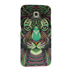 Luxo case Glow in the dark Tijger Samsung Galaxy S6