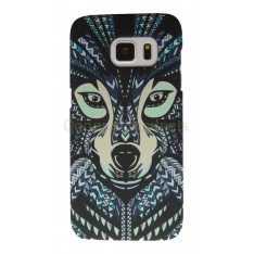 Luxo case Glow in the dark Wolf Samsung Galaxy S7 Edge