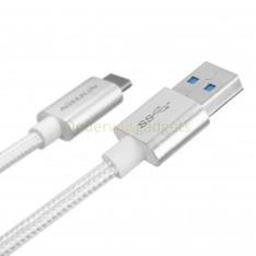 Nillkin Elite oplaadkabel USB-C naar USB 3.0 zilver