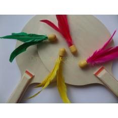 Ping pang mini shuttle in vrolijke kleuren