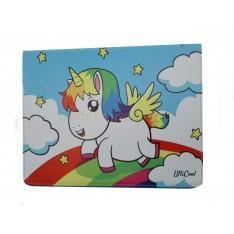iPad Pro 9.7 case hoesje Eenhoorn Unicorn Regenboog