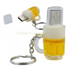 USB-stick bier pul / glas 8GB
