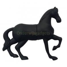 USB-stick paard zwart 8GB