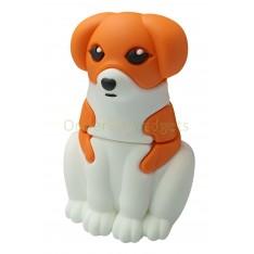 USB-stick schattige hond bruin/wit 16GB