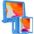 iPad 10.2 (2019 / 2020) kinderhoes blauw met ingebouwde screenprotector
