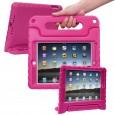 iPad 9.7 (2017) / (2018) kinderhoes roze (ook geschikt voor iPad Air 1) met ingebouwde screenprotector