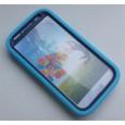 Stevige kinderhoes blauw voor de Samsung Galaxy S4