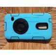 Stevige kinderhoes blauw voor de Samsung Galaxy S5